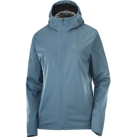 Salomon GTX WS Softshell jakke Damer, blå